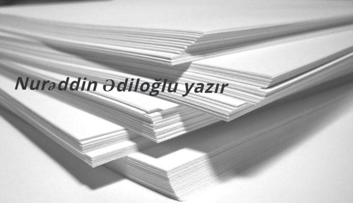"""Nurəddin Ədiloğlu - """"Barıt qoxusu gələn Vətən torpağı"""""""